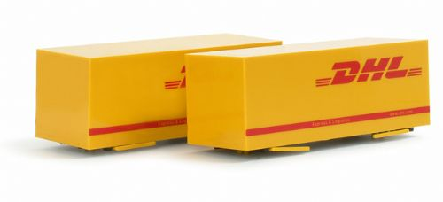 "Herpa 076081 Intermodal Interchangeable box (7,45m) ""DHL"""